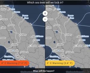 Guarda la versione ingrandita di Riscaldamento globale Italia: città finiranno sott'acqua...