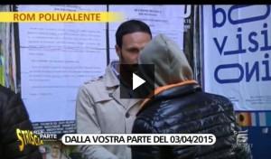 Quinta Colonna, Mediaset risarcirà giornalista del finto rom