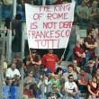 Roma-Chievo, Francesco Totti: striscioni per capitano FOTO_3