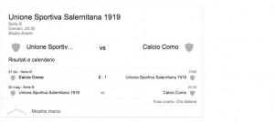 Salernitana-Como, streaming-diretta tv: dove vedere Serie B