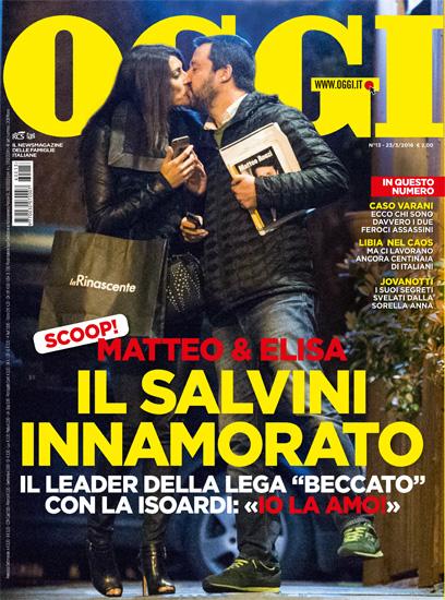"""Elisa Isoardi: """"Matteo Salvini è incontenibile e tenero"""""""
