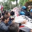 YOUTUBE Salvini a Bologna, polizia carica antagonisti3