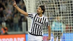 Guarda la versione ingrandita di Sami Khedira infortunato. A rischio finale Coppa Italia (foto d'archivio Ansa)