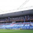 Sampdoria-Genoa 0-3 striscioni-coreografie derby: blucerchiati