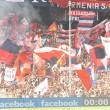 Sampdoria-Genoa 0-3 striscioni-coreografie derby: rossoblù