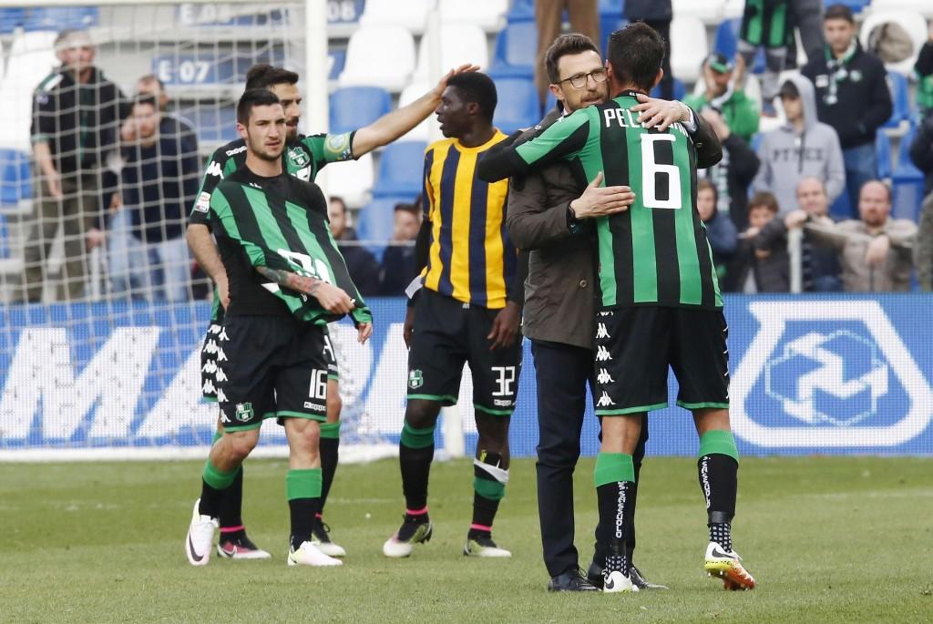 Soccer: Serie A; US Sassuolo vs Hellas Verona FC