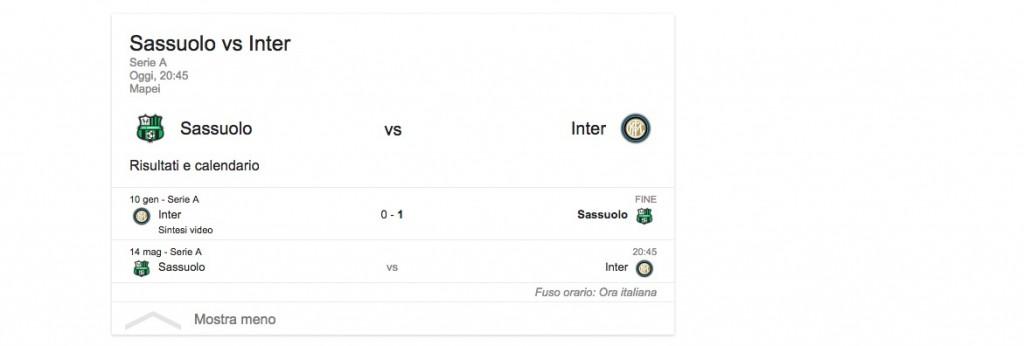Sassuolo-Inter, streaming-diretta tv: dove vedere Serie A_3
