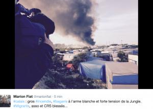 Francia, a Calais rissa tra migranti: 20 feriti FOTO-VIDEO