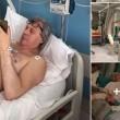 Vittorio Sgarbi in ospedale a Modena per il cuore FOTO