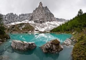 Roccia si stacca da Sorapis, boato sentito a Cortina