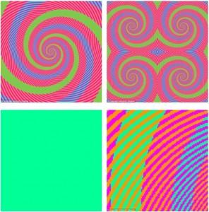 Quanti colori ci sono in questa spirale?
