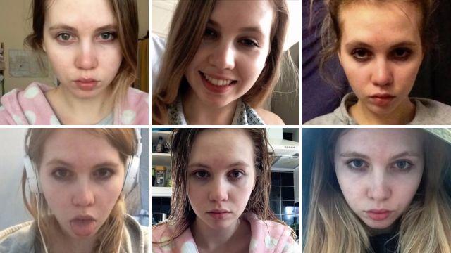 VIDEO Intossicata da studio: un selfie al giorno e...