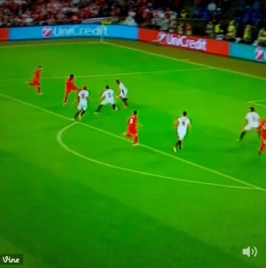 Daniel Sturridge video gol Liverpool-Siviglia Europa League