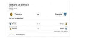 Ternana-Brescia, streaming-diretta tv: dove vedere Serie B