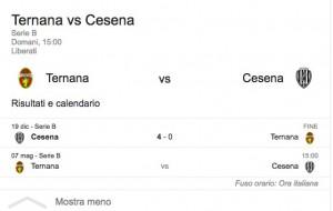 Ternana-Cesena, streaming-diretta tv: dove vedere Serie B