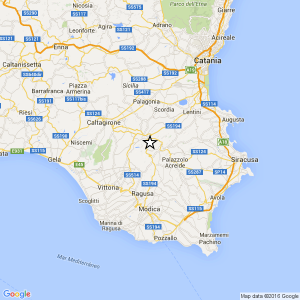 Terremoto vicino Ragusa: magnitudo 3,5