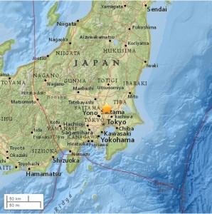 Terremoto Giappone, scossa del 5.8 a Tokyo: treni sospesi