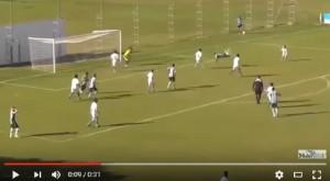 YOUTUBE Thomas Luciano, mossa scorpione alla Higuita e gol