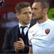 Totti entra San Siro, applaudono anche tifosi Milan