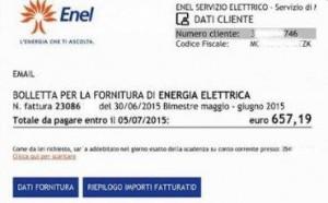 Truffa falsa bolletta Enel, fate attenzione: allarme su Fb