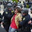 San Diego, scontri al comizio di Donald Trump: arresti FOTO01