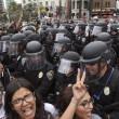 San Diego, scontri al comizio di Donald Trump: arresti FOTO06