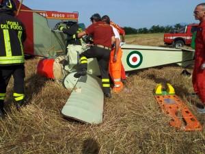 Scurelle: aereo ultraleggero cade. Morti pilota e passeggero