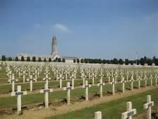 Il cimitero a Verdun