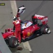 YouTube Vettel video incidente gp russia formula 1_4