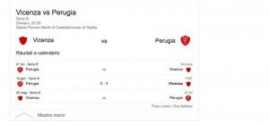 Vicenza-Perugia, streaming-diretta tv: dove vedere Serie B