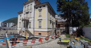 VIDEO YOUTUBE Villa gigantesca spostata di 9 metri con...