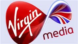 Il logo di Virgin Media