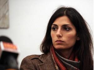 Guarda la versione ingrandita di Virginia Raggi, i pannolini: polemica con Loredana Lipperini