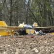 Aereo acrobatico precipita vicino York: morti 2 piloti Raf05