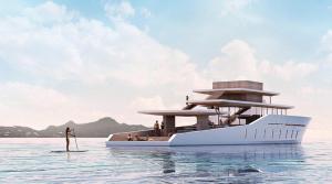 """YOUTUBE Yacht come villa: """"La Petite Terrasse"""" di Desautel"""