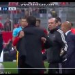 YouTube, Bayern-Atletico: Simeone-Ribery, rissa sfiorata_1