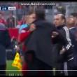 YouTube, Bayern-Atletico: Simeone-Ribery, rissa sfiorata