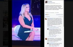 """Nina Moric su Paola Ferrari: """"Con tutta quella cellulite..."""""""