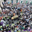 Gianluca Buonanno funerali, Matteo Salvini piange 01