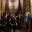 Gianluca Buonanno funerali, Matteo Salvini piange 05
