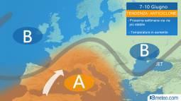 Alta pressione dal 7 al 10 giugno: estate conquista l'Italia