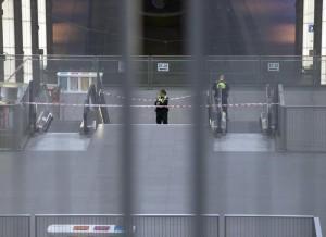 Guarda la versione ingrandita di Bruxelles, evacuata stazione centrale: due valigie sospette