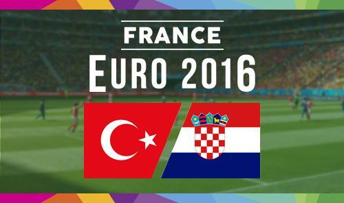 Euro 2016 Turchia-Croazia: dove vedere in streaming e tv