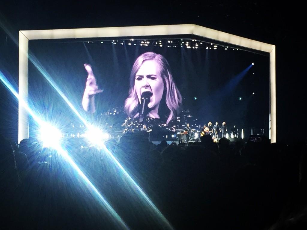 Adele alla fan sul palco Oh mio Dio, ti conosco1