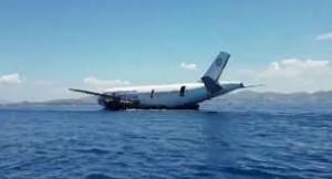 Airbus affondato in mare per attrarre sub4