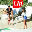 Belen Rodriguez in topless a bordo piscina 03