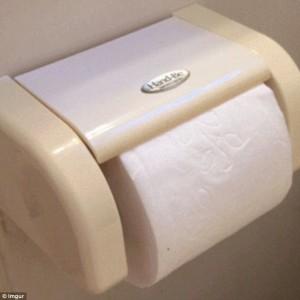 Guarda la versione ingrandita di YOUTUBE Cambiare rotolo carta igienica restando seduti sul water