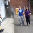 Clienti intrappolati nella stazione di servizio invasa da fumo artificiale6
