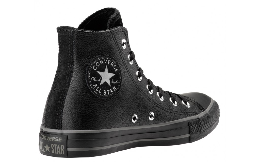 2converse all star in pelle nere
