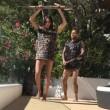 Dani Alves, ballo demenziale con la moglie in vacanza4